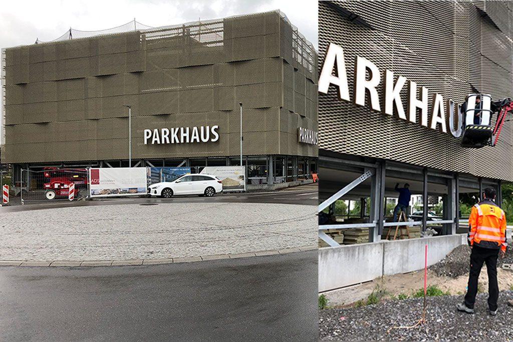 Parkhaus an der Dr.-Sieber-Halle
